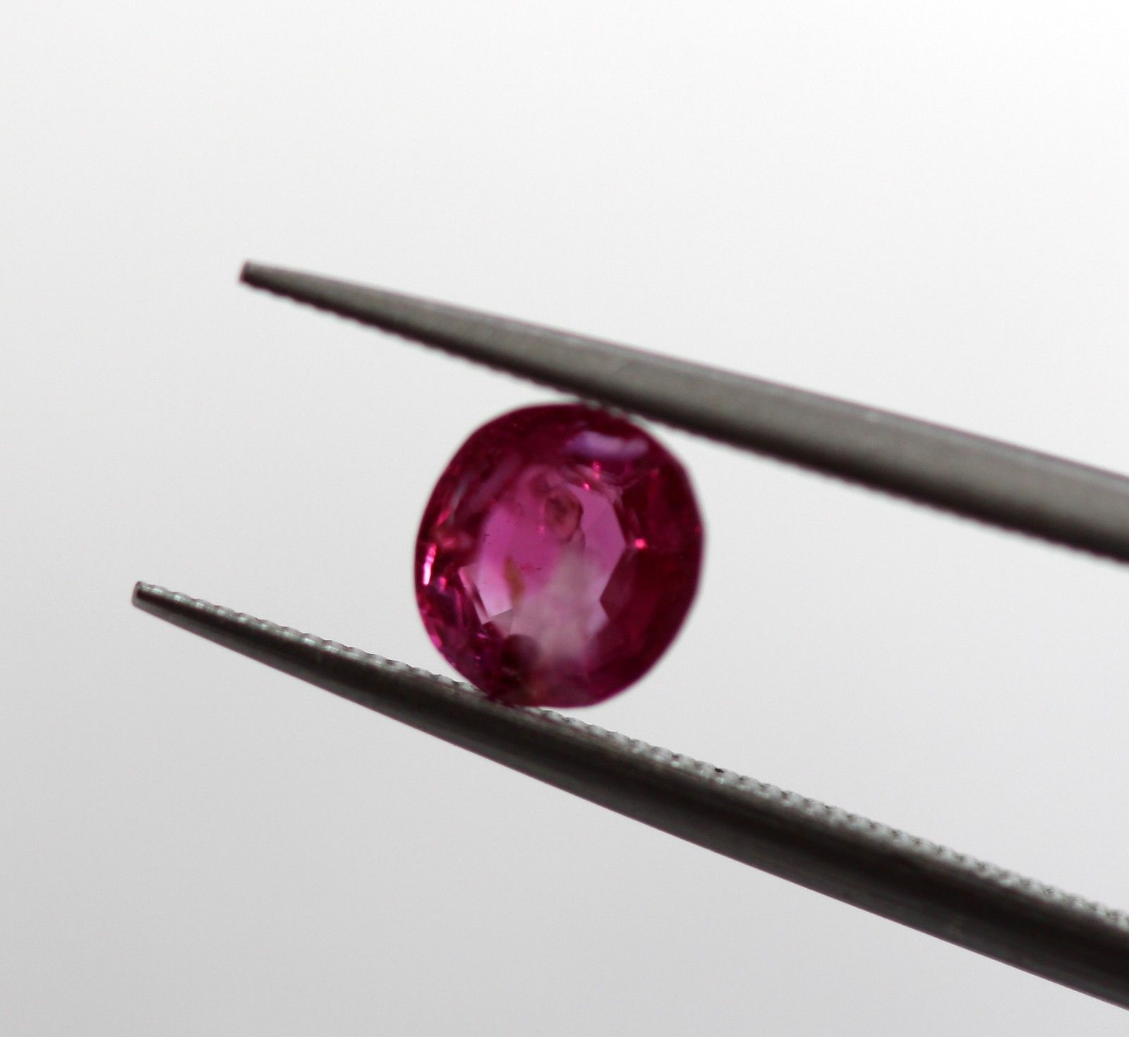 0.50 Ct Ruby Oval Shape Natural Gemstone Pink Sapphire Burma Certified