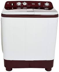 Haier 8.0 Kg Top Loading Semi Automatic Washing Machine HTW80-185 TBK