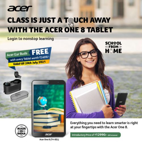 Acer One 8 T4-82L Tablet (2 GB/ 32 GB)