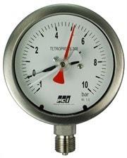 "POINTER - Diaphragm Sealed Pressure Gauge  +  Free Cal. Certificate ( 0-10 Kg/cm² , 6"" ) (T/P/PRG/POI/010/002)"