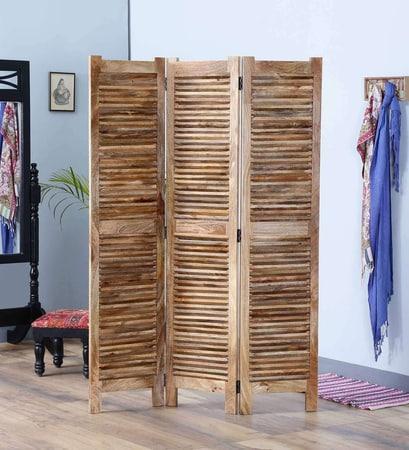 buy wooden 3 panel room divider screen solid wood dividers rh furniselan com