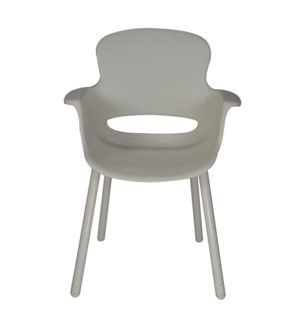 Ventura Plastic Chair White [VF 368]