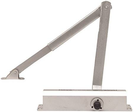 SAMRAT Aluminium Door Closer (Silver, 1-Piece, SH 345)
