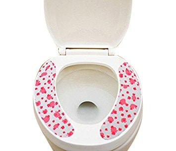 Pindia Fancy Paste Paper Toilet Cushion Mat