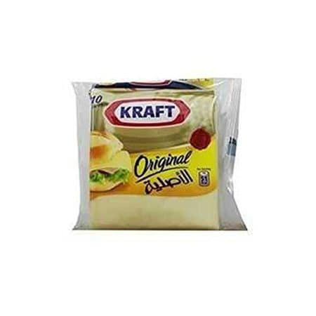 kraft original 10 cheese slices 180 gm