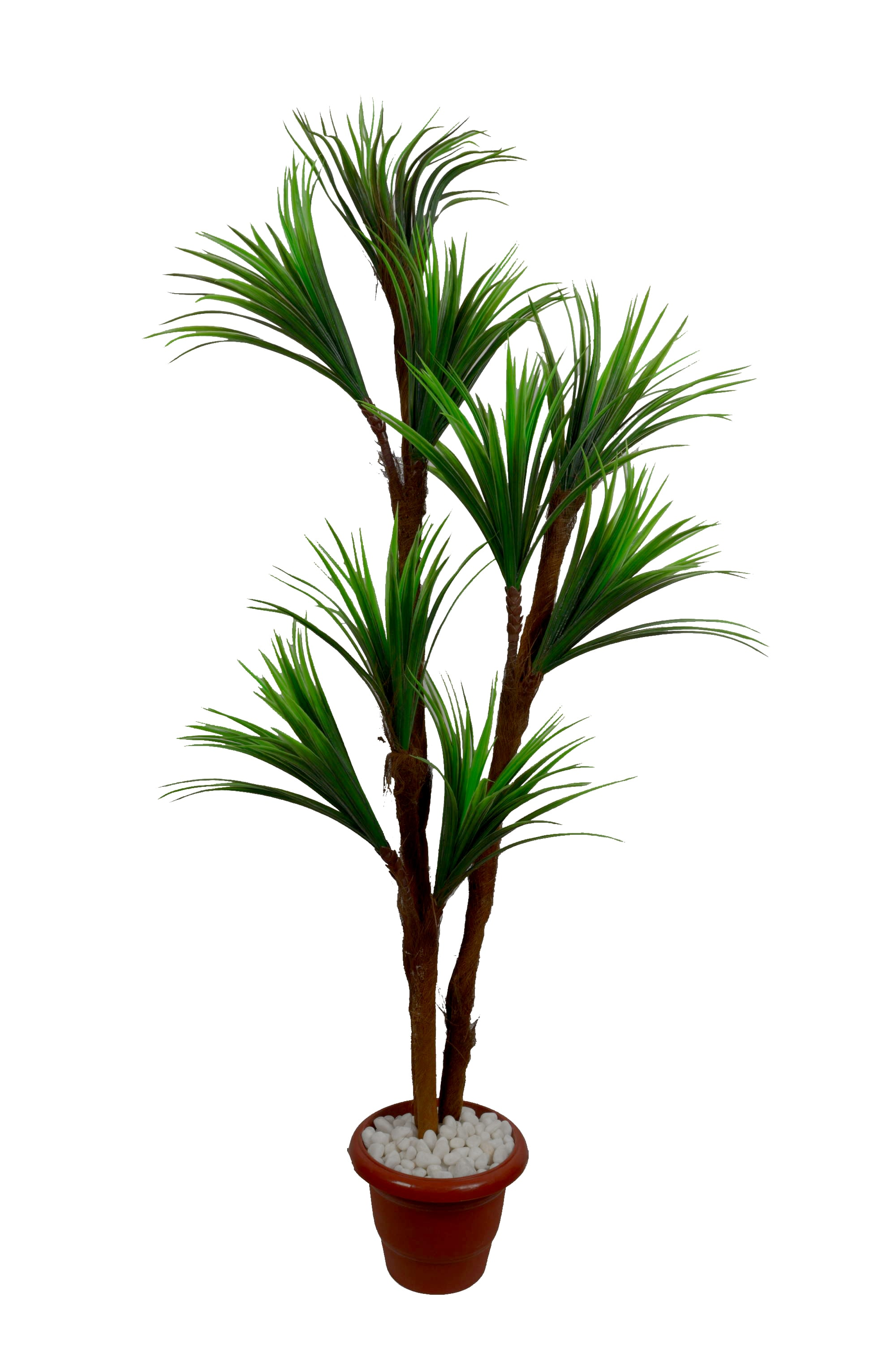 Artificial 9 In 1 Yucca Plant Without Pot N162C2