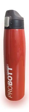 PROBOTT Stainless Steel Vacuum Sports Bottle PB1000-05 Red