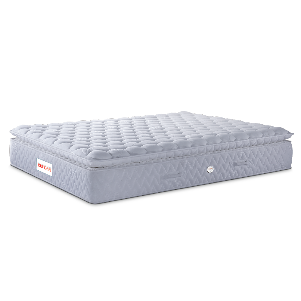 "Repose Spine-Pro Pocketed Spring With Memory Foam Mattress (72X72X8"")"