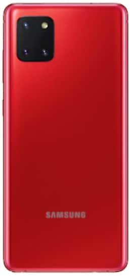 Samsung Galaxy Note 10 Lite (RAM 6 GB, 128 GB, Aura Red)