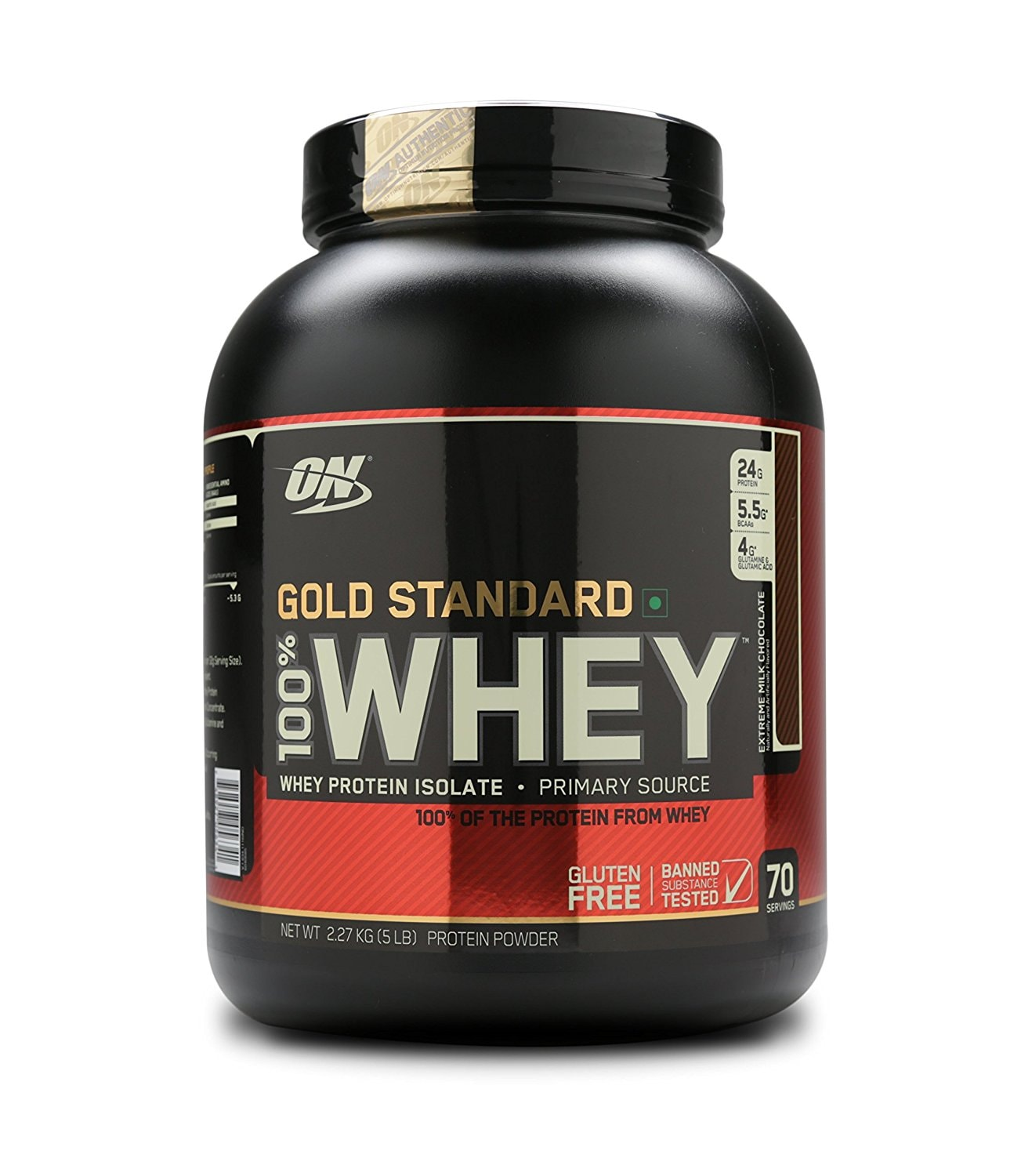 ON 100% Whey Gold Standard 5lbs