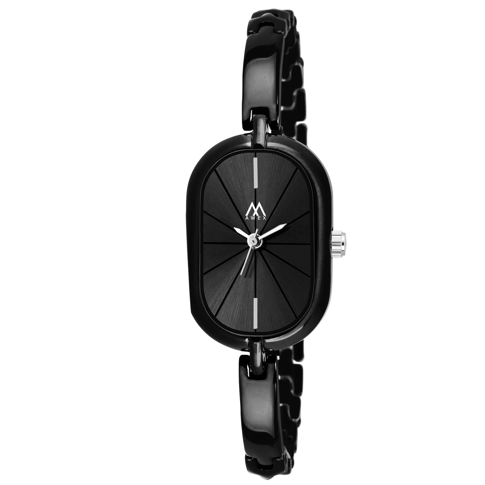 Awex Capsule Black Premium Look Bracelet Strap Analog Watch - For Women