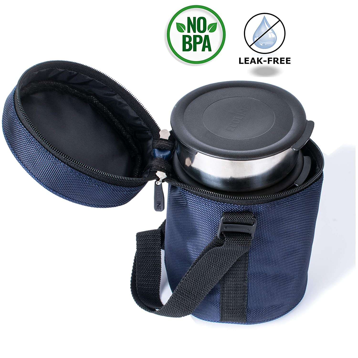 Ecoline Lunch Box Stainless Steel