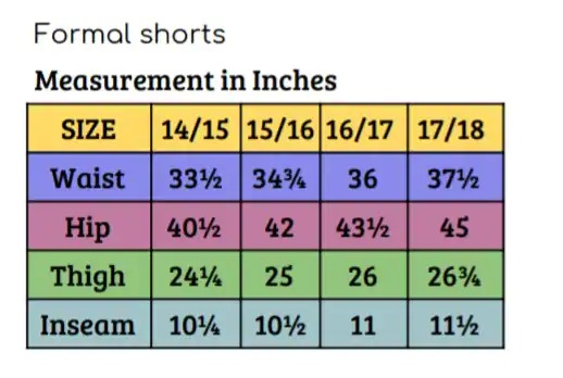 Shorts, Formal - L, XL (14/15)