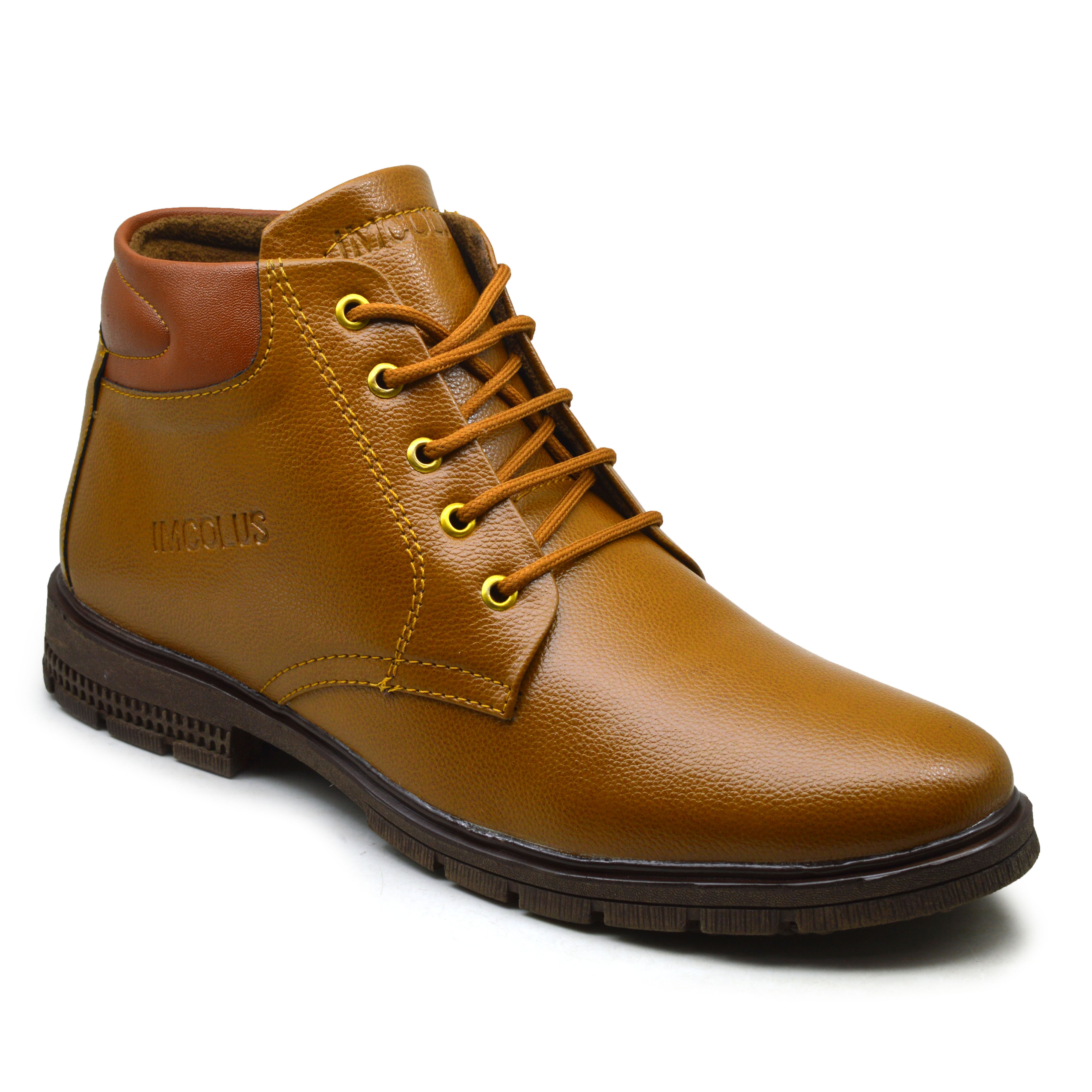 IMC592.31359_TN HIGH QUALITY CASUAL BOOT SHOE FOR MEN IMC592.31359_TN (TAN, 6TO9, 4 PAIRS)