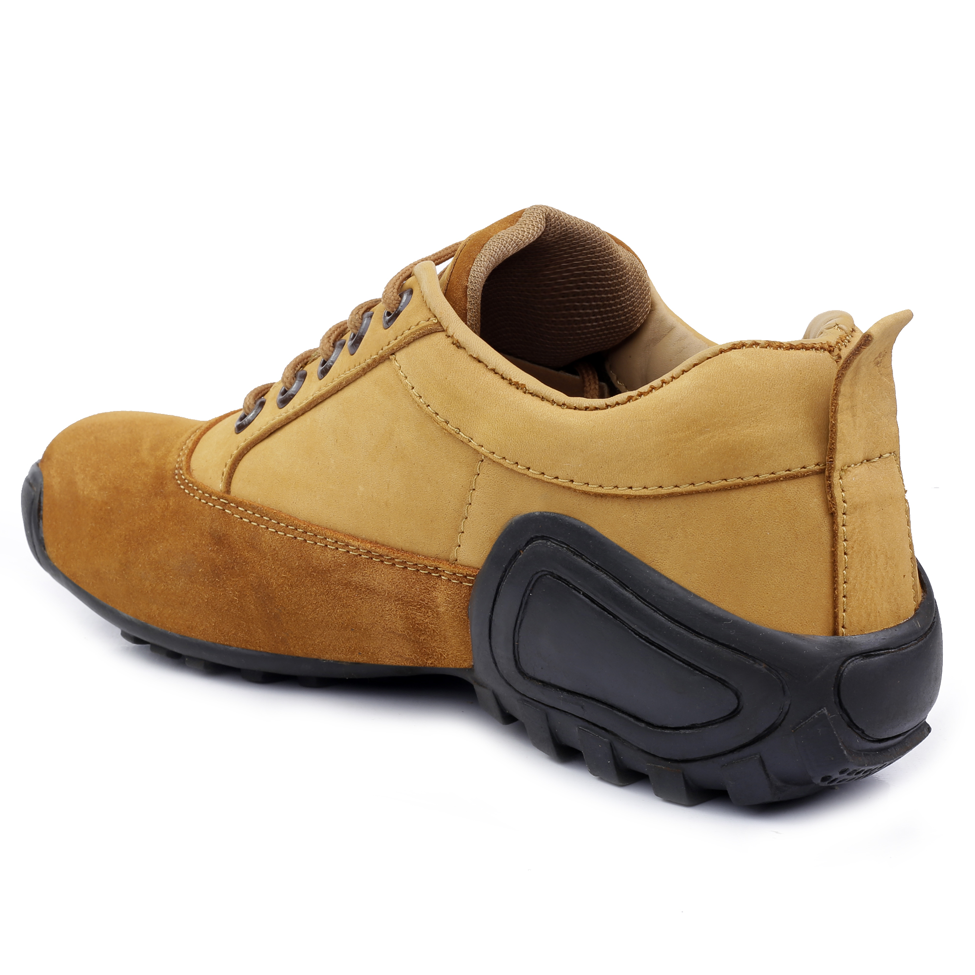 IMC674A.6000_TN GOOD QUALITY & FANCY CASUAL LEATHER BOOT SHOE FOR MEN IMC674A.6000_TN (TAN, 7TO10, 4 PAIRS)