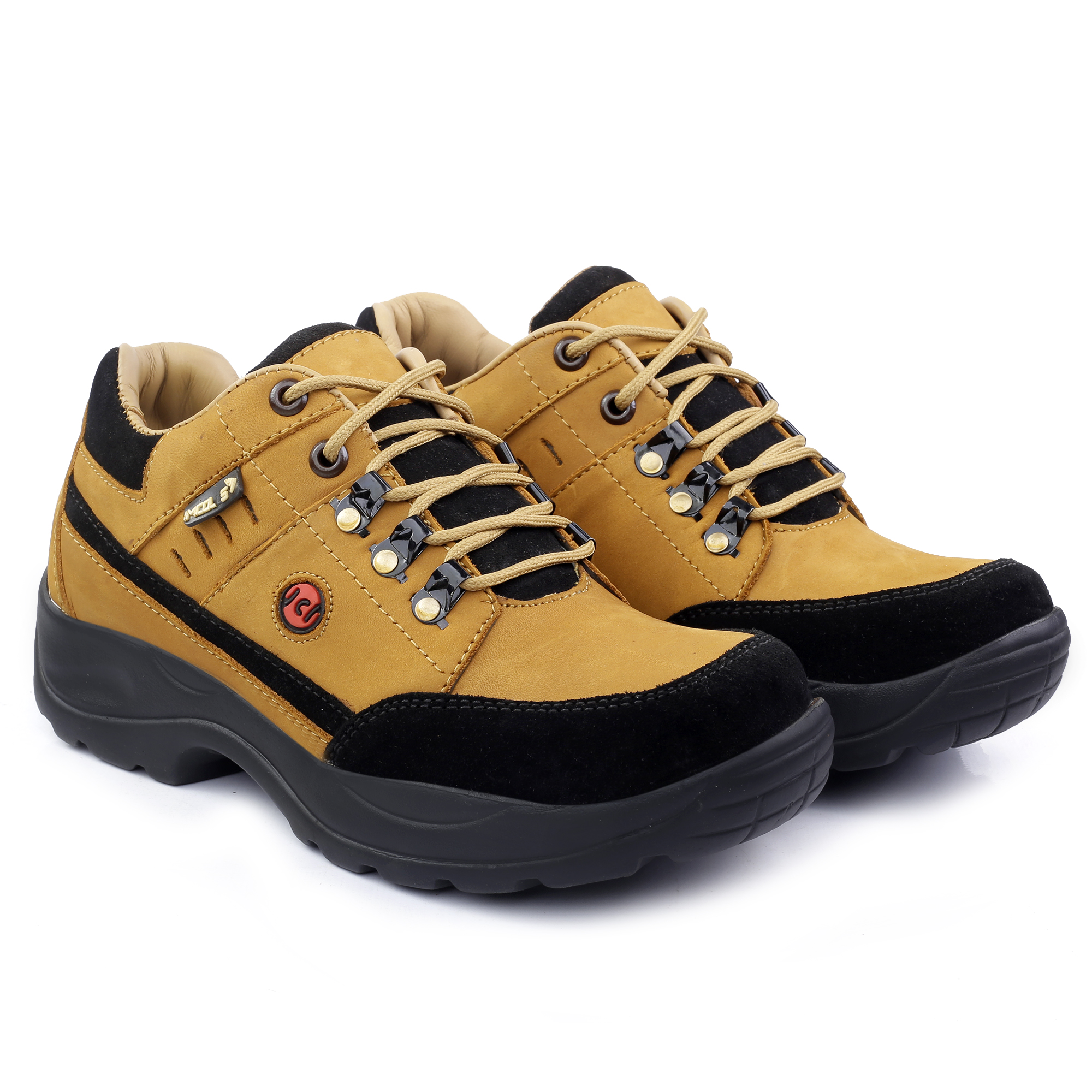 IMC673A.6000_TN GOOD QUALITY & FANCY CASUAL LEATHER BOOT SHOE FOR MEN IMC673A.6000_TN (TAN, 7TO10, 4 PAIRS)
