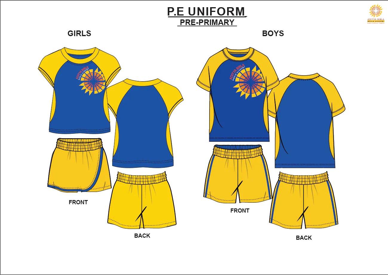 PE Tees Boys (2/3)