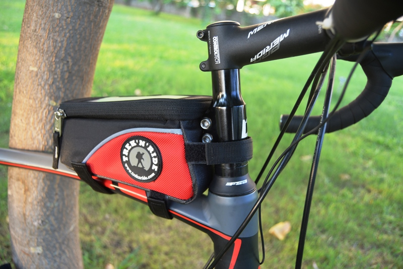 Bicycle Top Tube Bag (Red)
