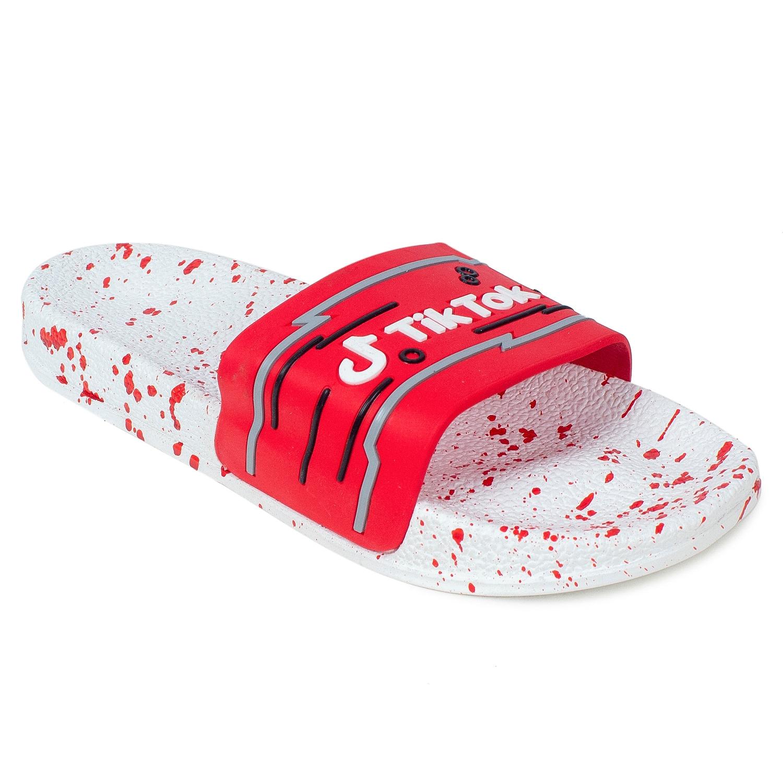 Foot Trends Tiktok White Sole Slipper For Men (Loose Packing) FT-TiktokSlipper (MULTICOLOR,40-44,10 PAIR)