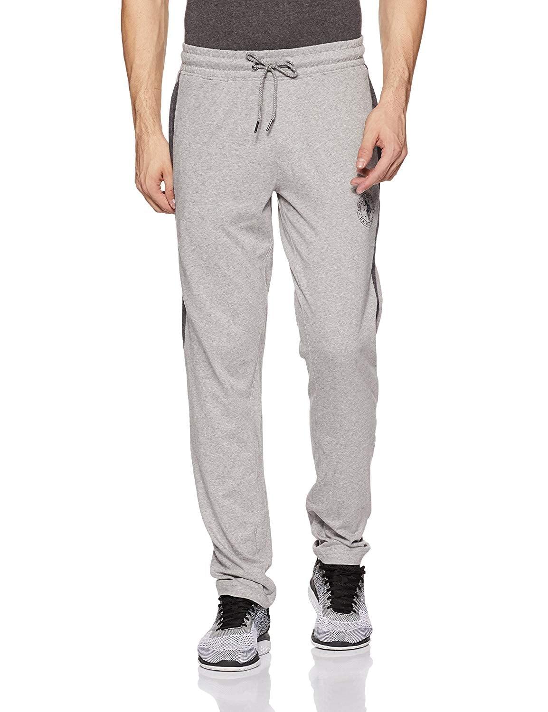 US POLO ASSN Men's Track Pant (XL,Grey Melange)