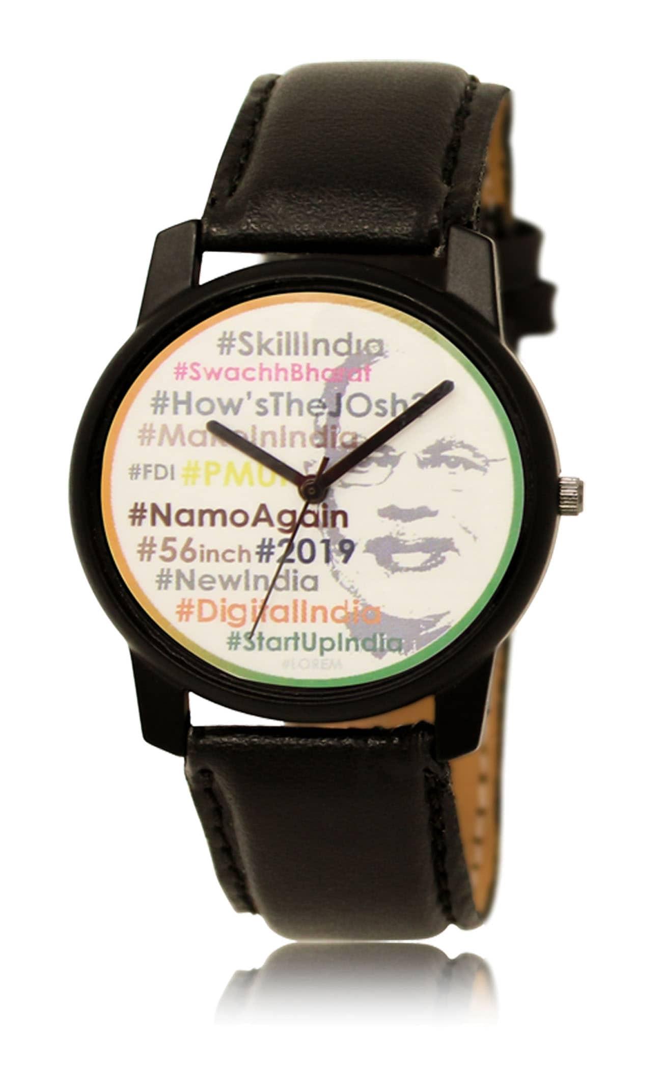 NAMO Again 2019 MODI Election Watch #ModiFever #VoteForMODI #FirEkBarModiSarkar Analog Watch - For Men