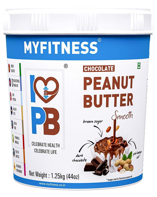 MYFITNESS CHOCOLATE PEANUT BUTTER: SMOOTH (1250G)