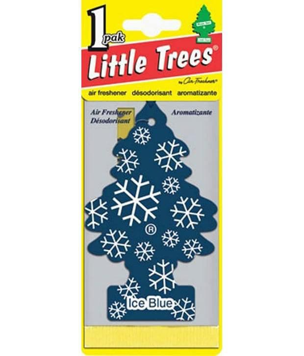 Little Tree Card Perfume Ice Blue
