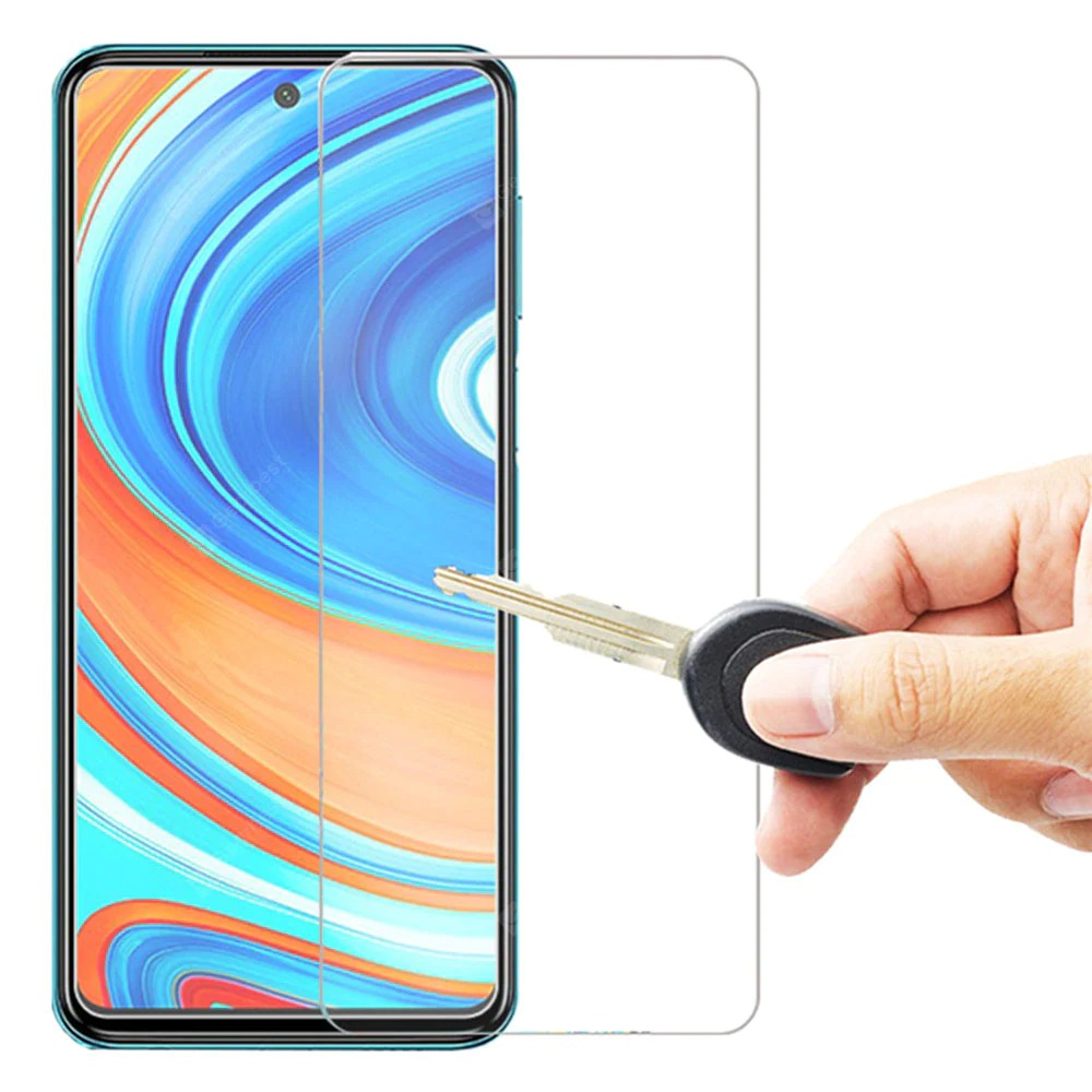 Premium Crystal Clear Tempered Glass For Xiaomi Redmi Note 9 Pro 5G