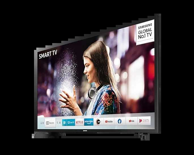 "SAMSUNG (UA32T4550AKXXL) 80cm (32"") Smart HD TV"