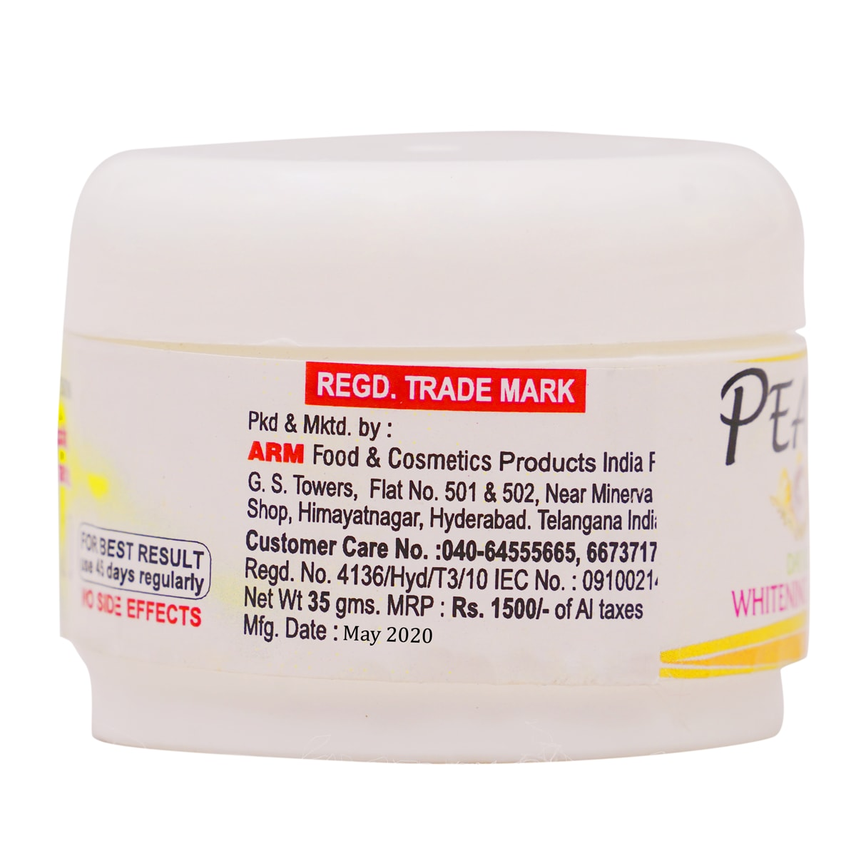 Pearl Day Use Whitening Cream