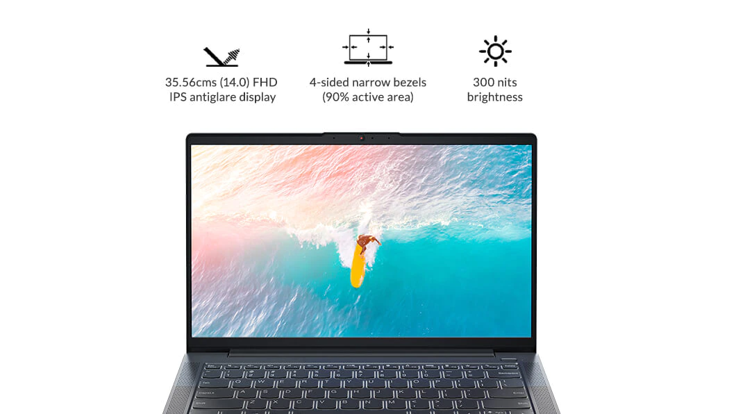 IdeaPad Slim 5 AMD 35.56cms - Graphite Grey