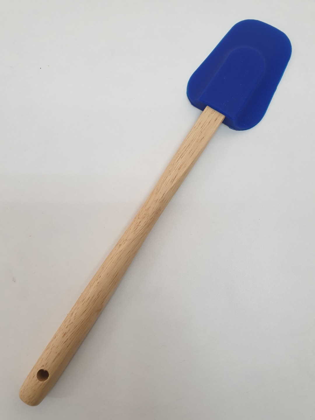 Rena Sillicon Cupped  Spatula (Wooden Handle)