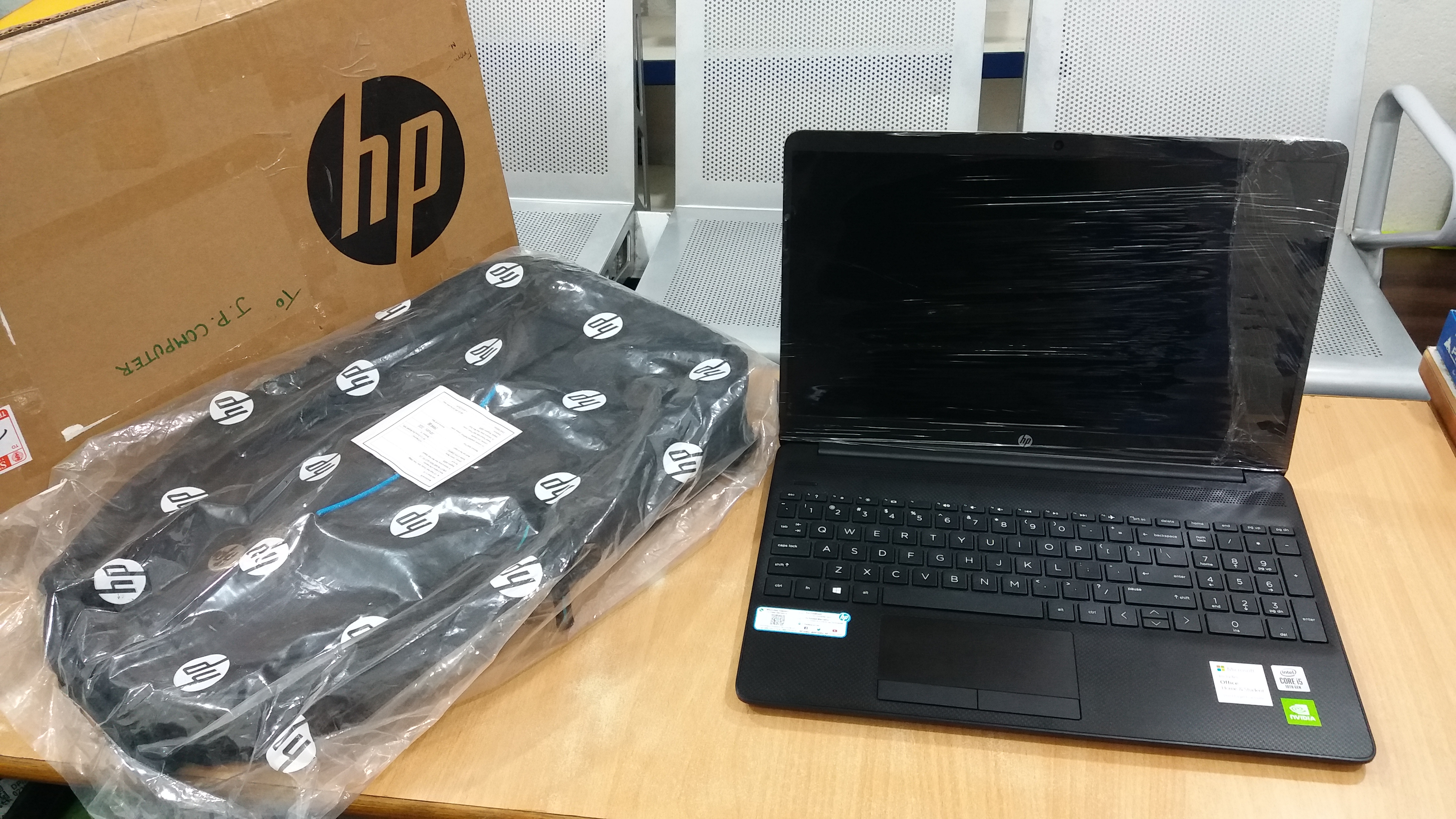 HP 15s Core I5 10th Gen - (8 GB/1 TB HDD/Windows 10 Home/2 GB Graphics) 15s-DU2036TX Thin And Light Laptop (15.6 Inch, Jet Black, 1.8 Kg, With MS Off