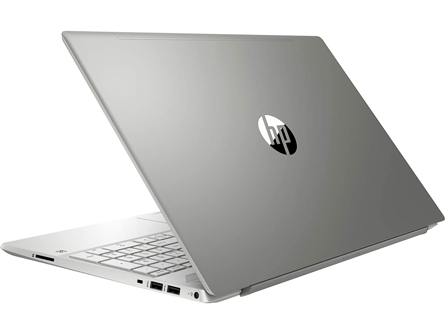 HP Pavilion 15.6-inch FHD Laptop (10th Gen I5-1035G1/8GB/1TB HDD + 256GB SSD/Windows 10/MS Office/2GB Graphics/Mineral Silver/1.85 Kg), 15-cs3006tx