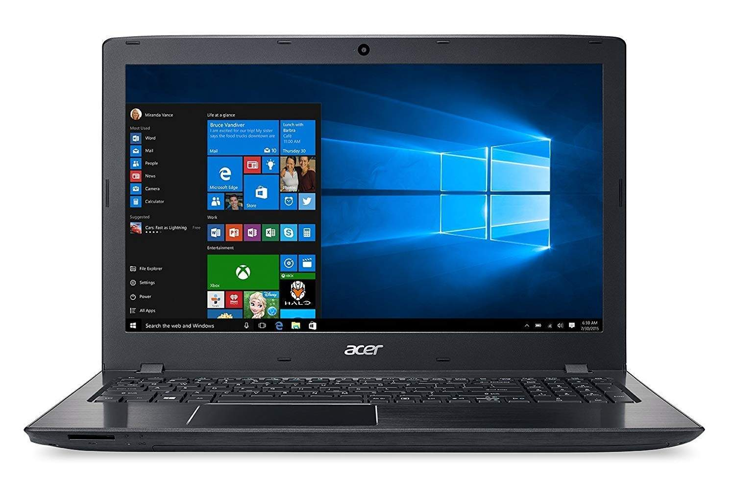 Acer Aspire E5-576 15.6 Inches Notebook (Intel Core I3-7100U/4GB RAM + 16 GB OPTANE/1TB HDD/Integrated Graphics/Win10)