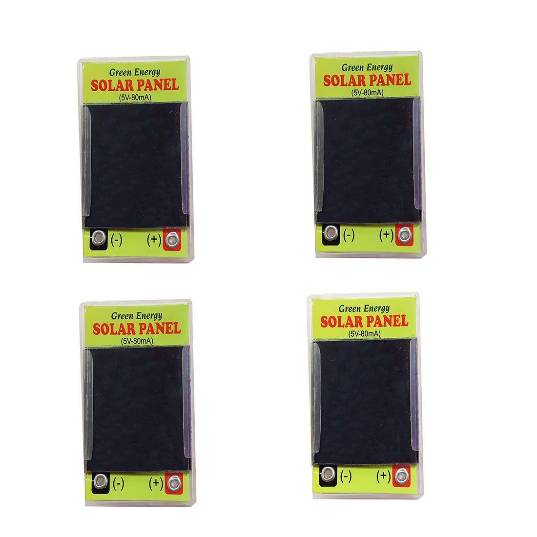 SC - 13 Melody's Mini Solar Panel 5V-80mA Rating For Science Projects Application.Set Of 4