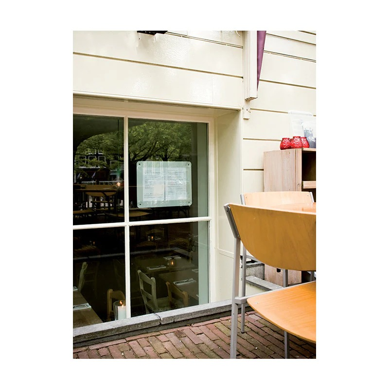 SECURIT PFW-A3-GY Posterframes - Windowsecurit® Window Poster Frame - Double Sided And Uv Resistant - 4 Suction Cups Included - A352,3X39,8X0,2Cm | 0,5Kggrey Pfw-A3-Gy