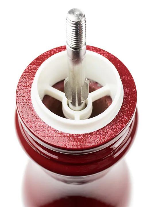 PEUGEOT 23652 Paris U'Select Salt Mill Laquered Dark Red Lacquer 30 Cm 23652