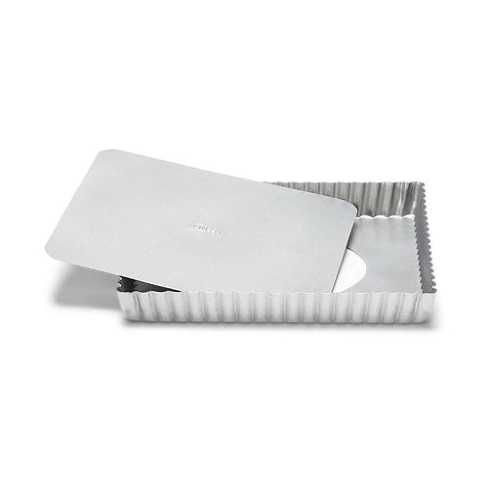 """PATISSE 3566 Quiche Pan With Removable Bottom 21 X 21 Cm 8 1/4 X 8 1/4"""" SILVER-TOP"""