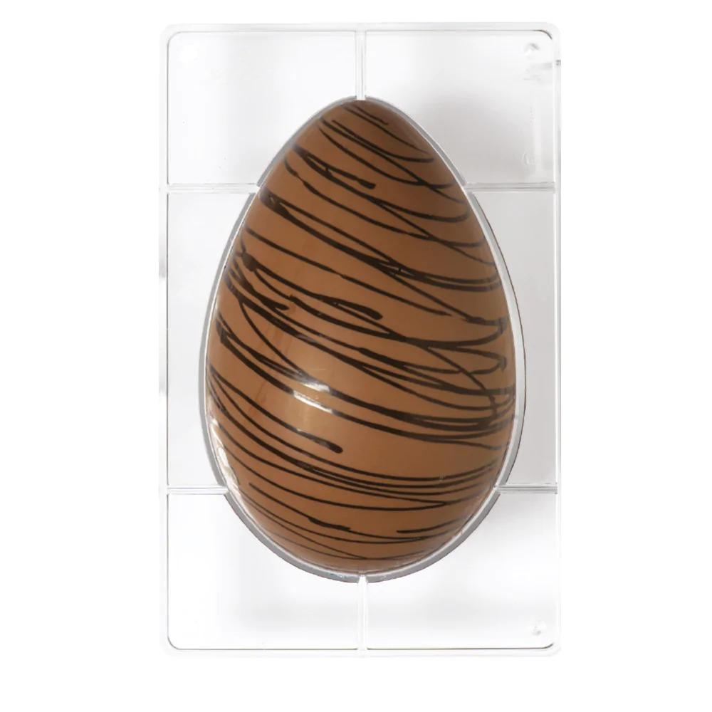 DECORA 50058 Egg Mold 1 Cavity Of 230 X 163 X 80 H Mm - Mold Size 275 X 190 X 20 H Mm Cavity - 350g