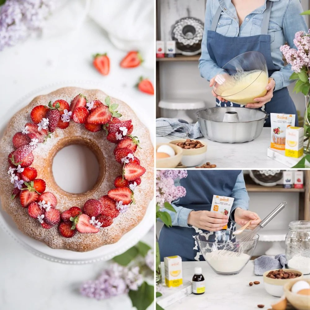 DECORA 70023 Non-Stick Bundt Cake Pan Dimension : ø 27 Xh 8.5 Cm