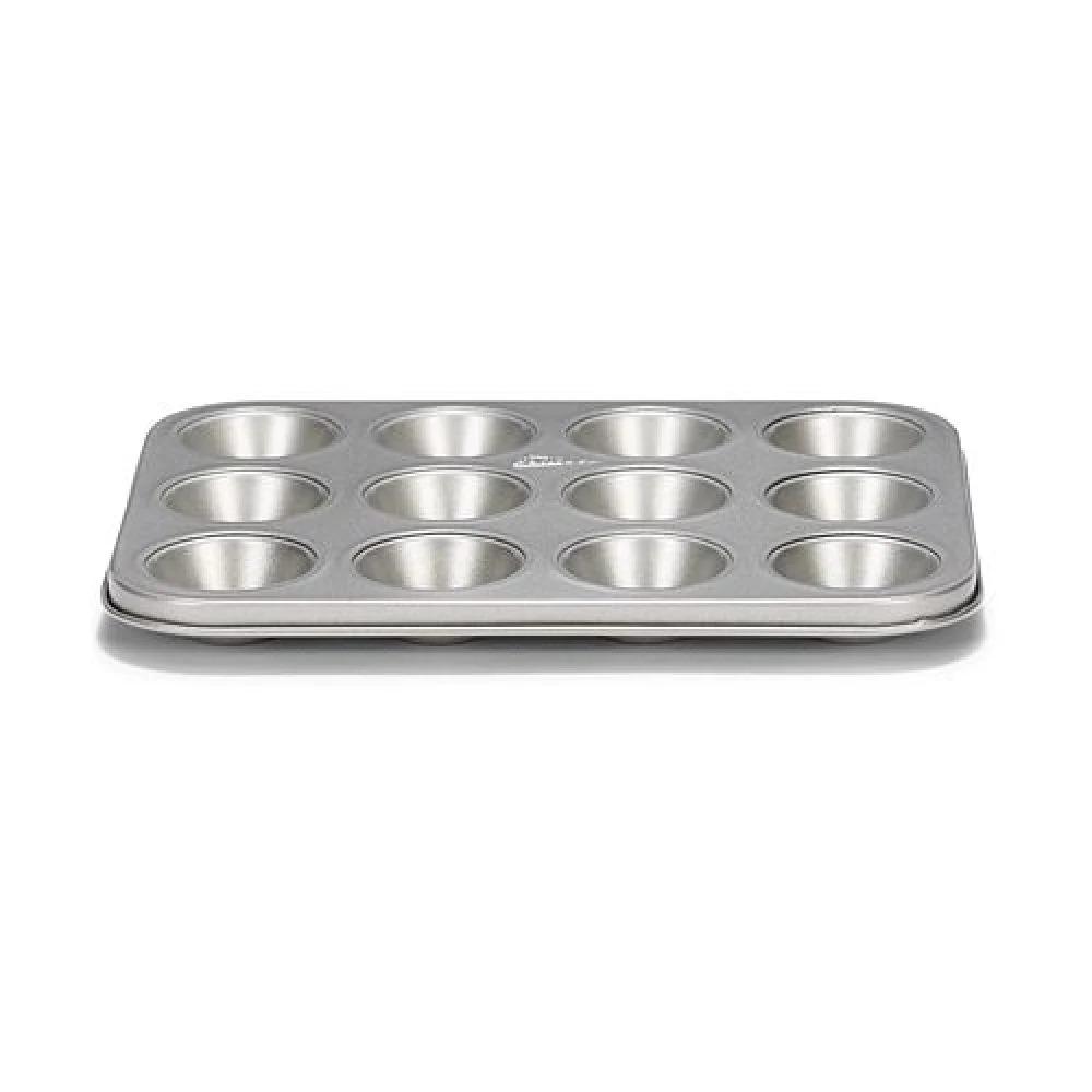 "PATISSE 3625 Mini Muffin Pan 12 Cup 25 Cm 9 7/8"" SILVER-TOP"