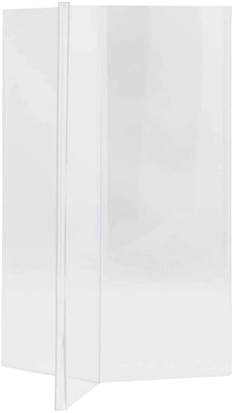 SECURIT PFT-ACY-A6 Poster Frames - Acrylic Securit® Transparent Poster Holder - Y-Shaped - A615X9,5X9,5Cm | 0,1Kg Transparent