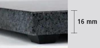 APS 923 Gn 2/4 Granite Tray 53X16.2 Cm
