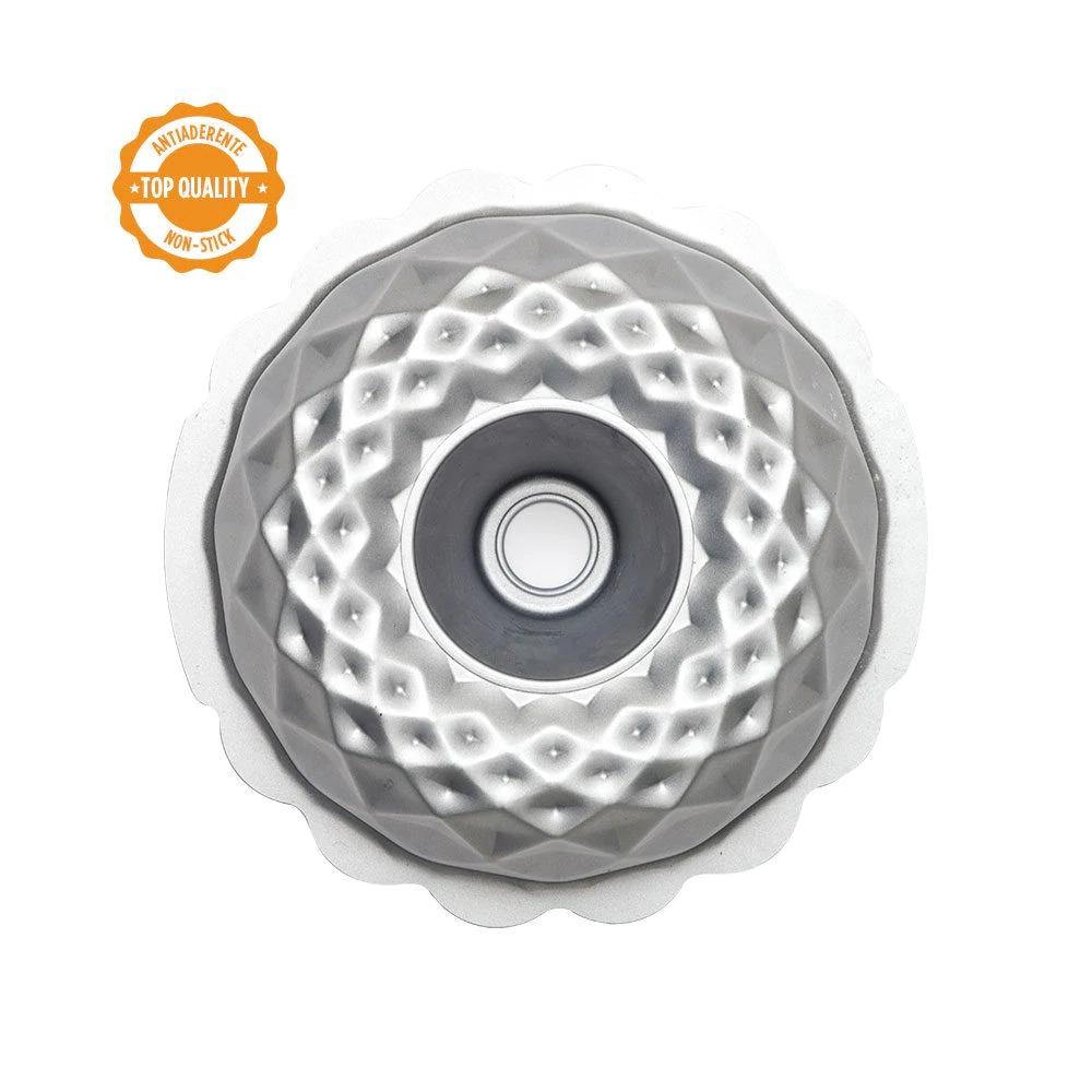 DECORA 70021 Diamond Bundt Cake Pan Dimension : ø 20 Xh 8 Cm Non-Stick
