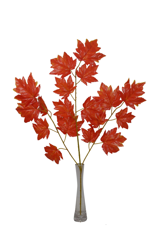 Artificial Maple Leaf ( 2 Pcs ) N57C1