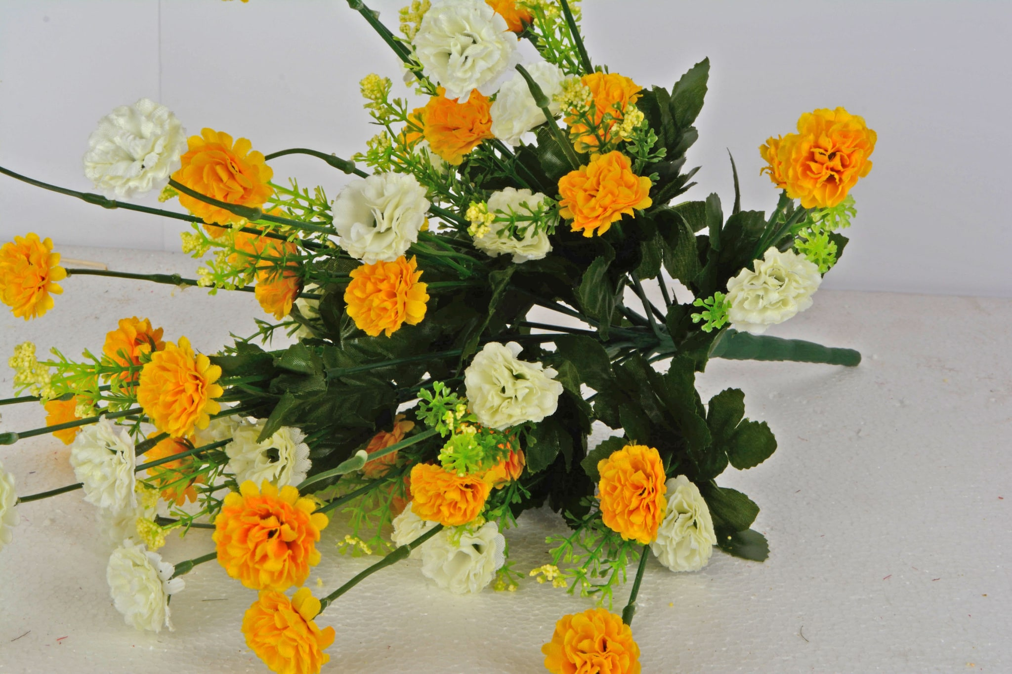 Artificial Carnation Flower Bunch N44C3