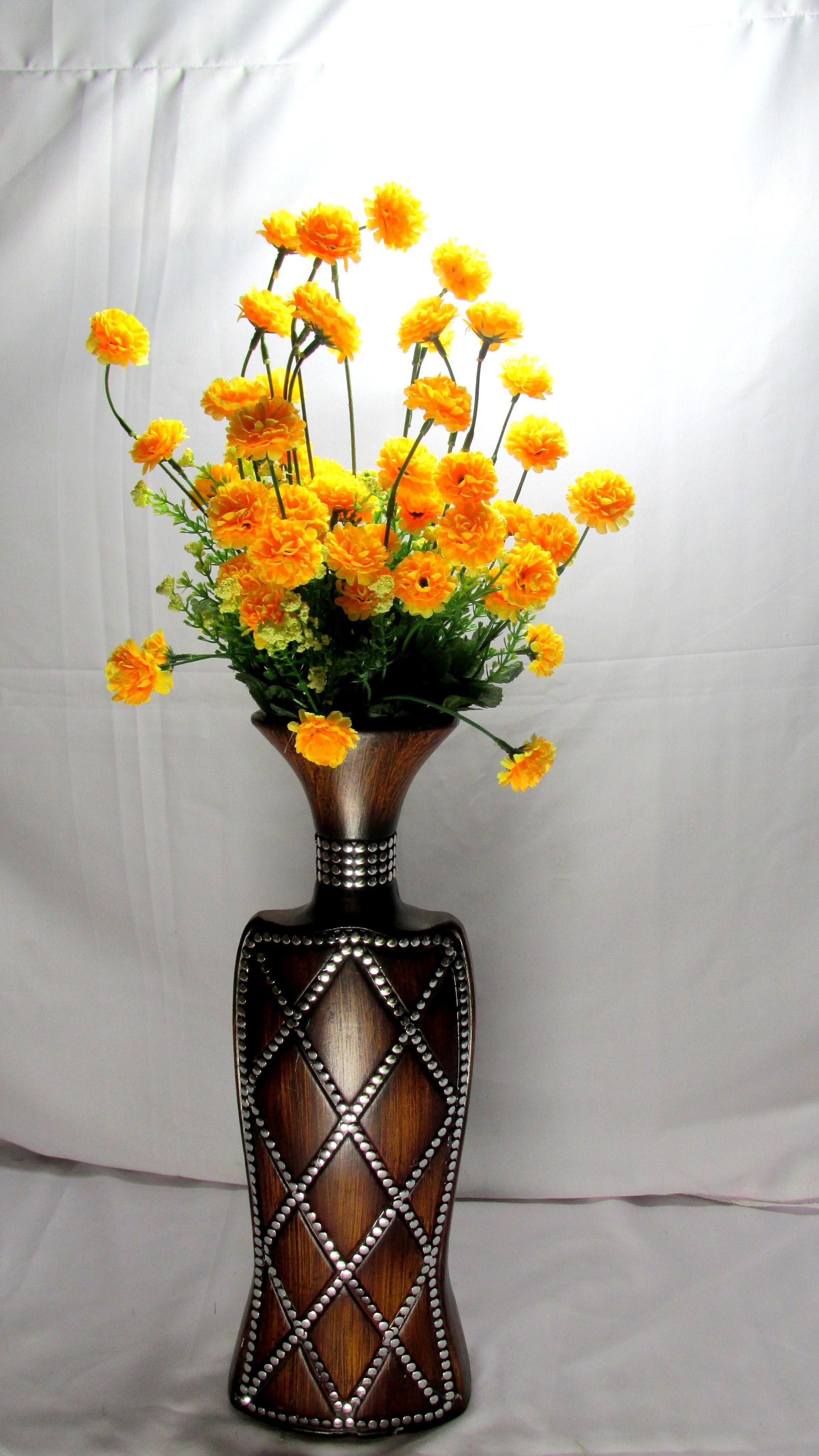Artificial Carnation Flower Bunch N34C1
