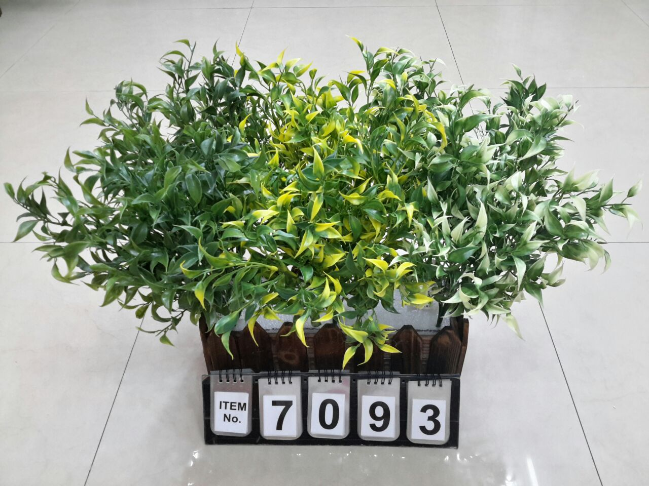 Artificial Multi Color Bush WPG7093
