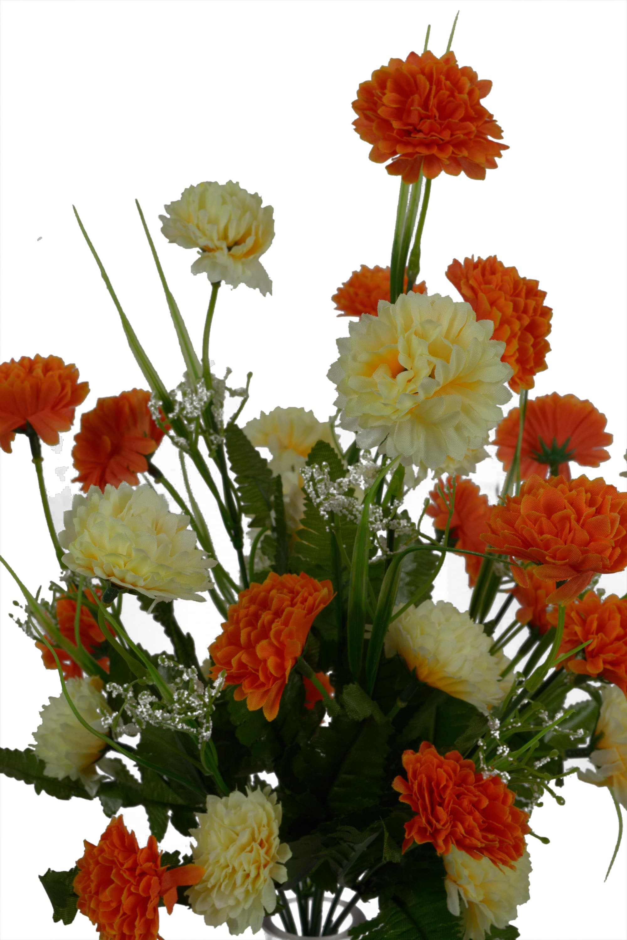 Artificial Carnation Flower Bunch N13C1